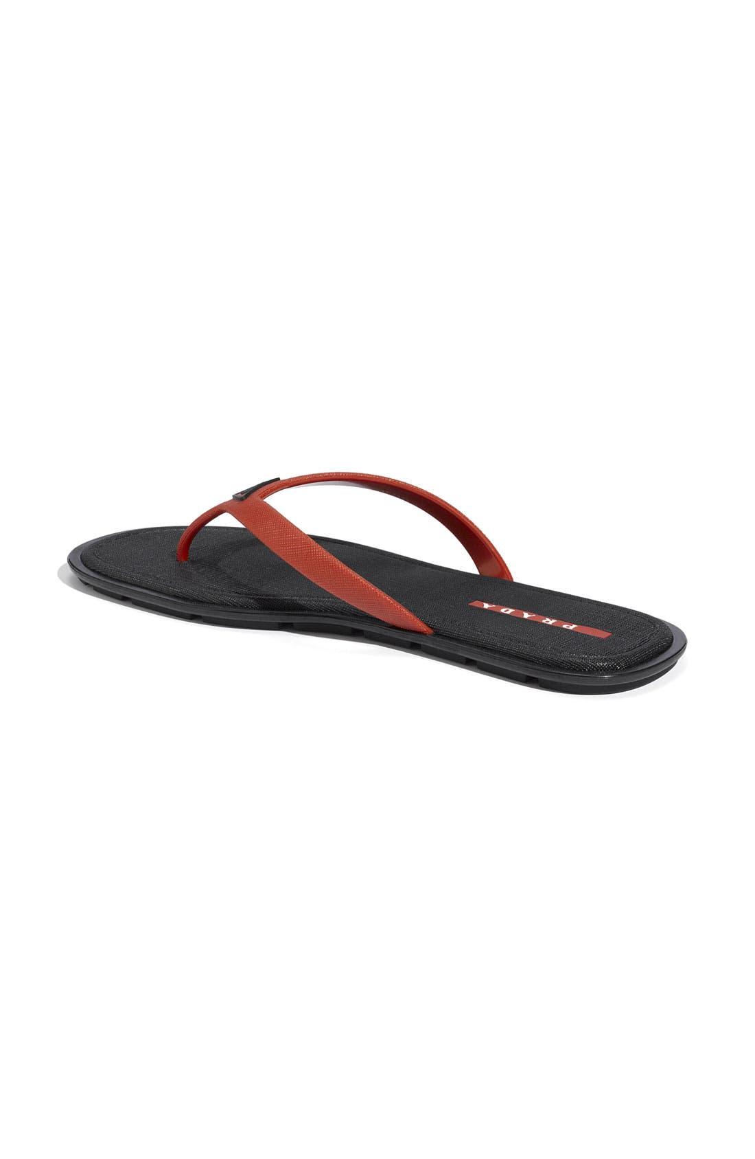 Alternate Image 2  - Prada Thong Sandal (Men)
