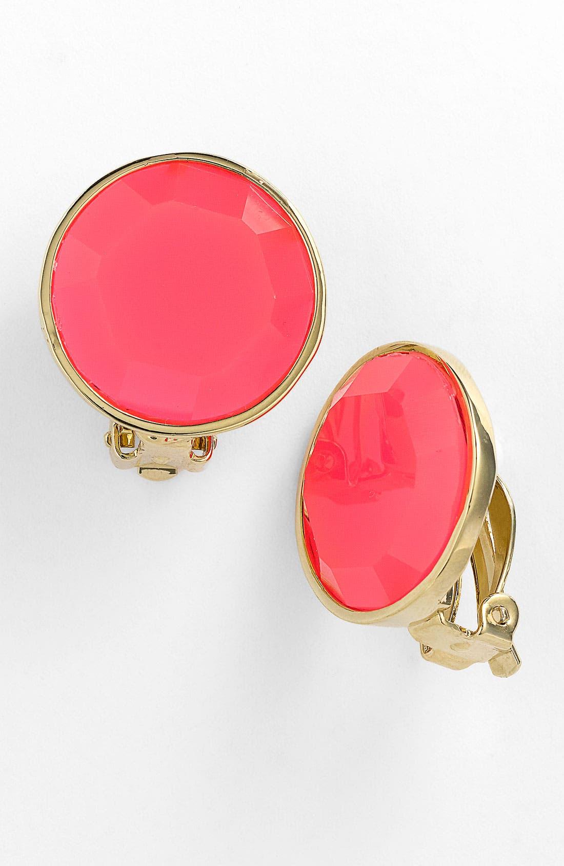 Main Image - kate spade new york 'bauble box' clip earrings