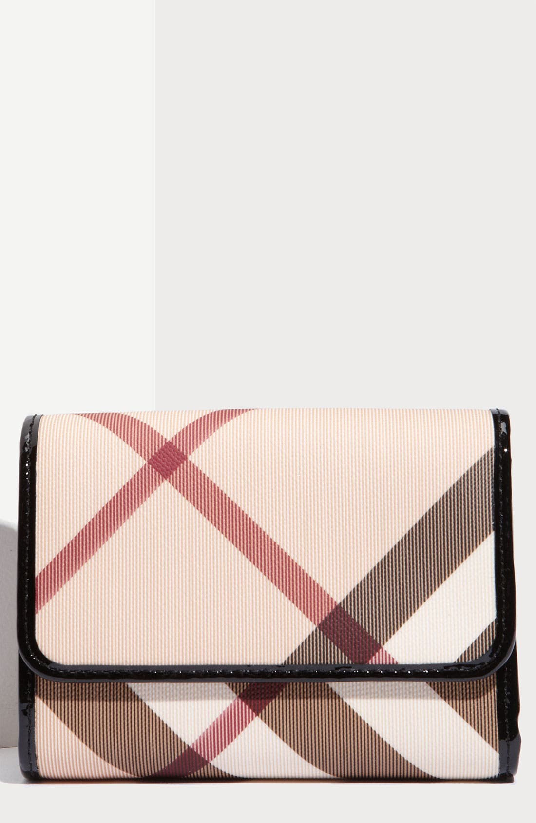 Alternate Image 1 Selected - Burberry 'Nova Check' French Wallet