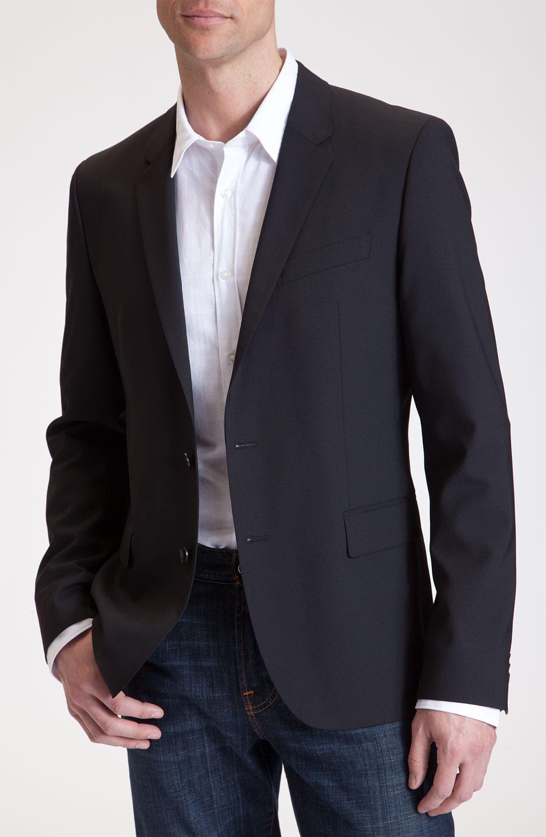 Alternate Image 1 Selected - HUGO 'Amares' Stretch Wool Sportcoat