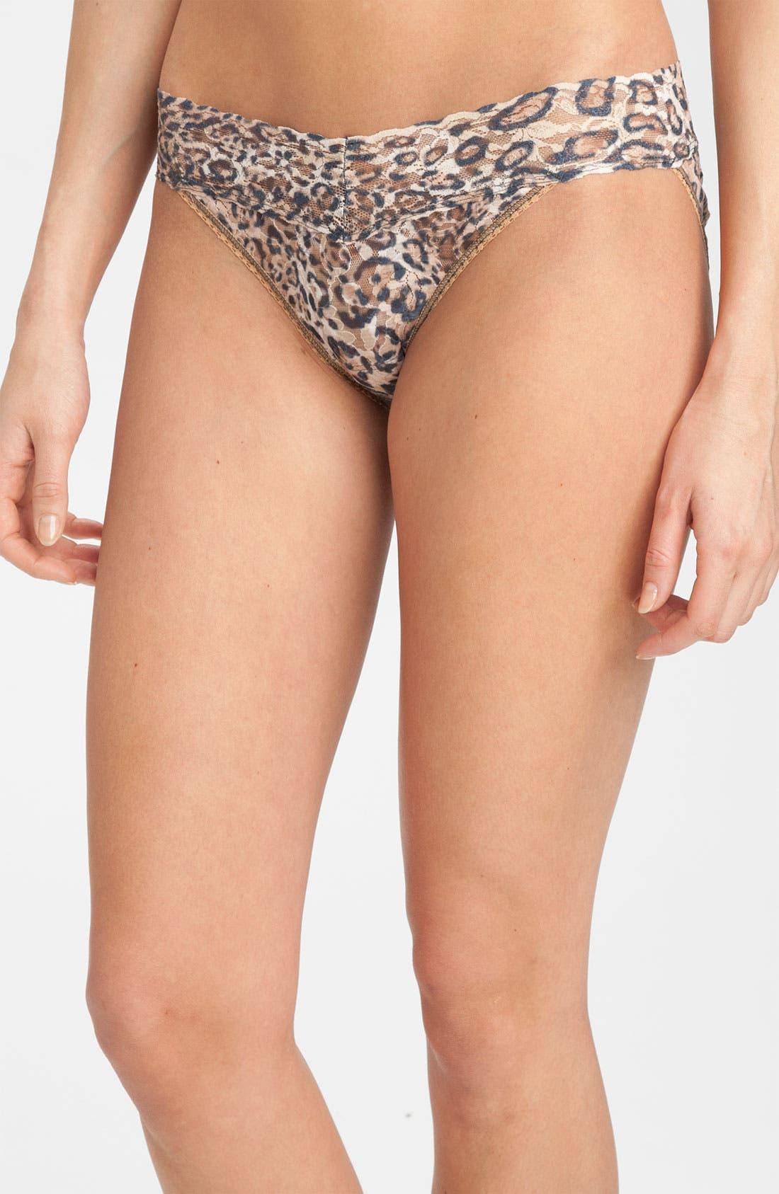 Alternate Image 1 Selected - Hanky Panky 'Vikini - Leopard' Bikini