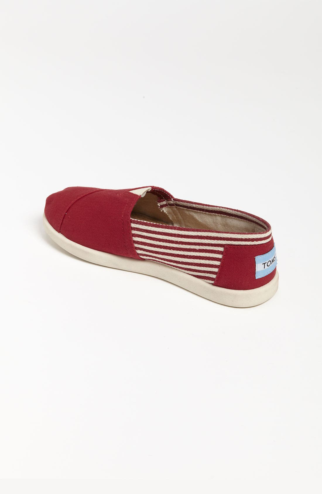 Alternate Image 2  - TOMS 'Classic Youth - University' Canvas Slip-On (Toddler, Little Kid & Big Kid) (Nordstrom Exclusive)