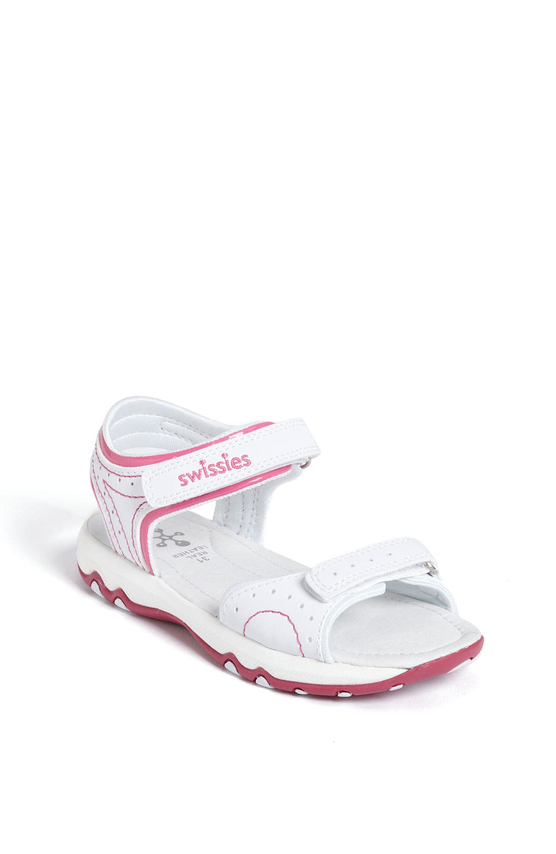 Alternate Image 1 Selected - Swissies 'Maya' Sandal (Toddler, Little Kid & Big Kid)