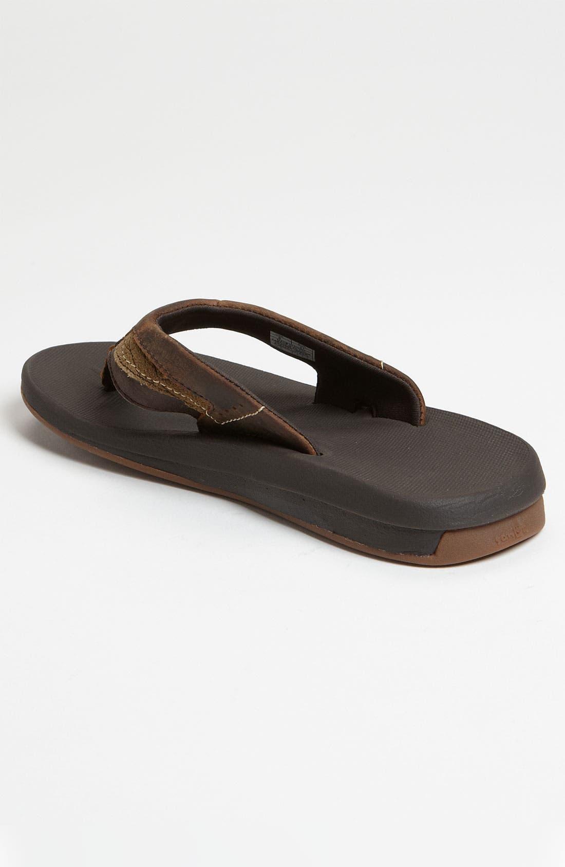 Alternate Image 2  - Sanuk 'Switch' Leather Flip Flop