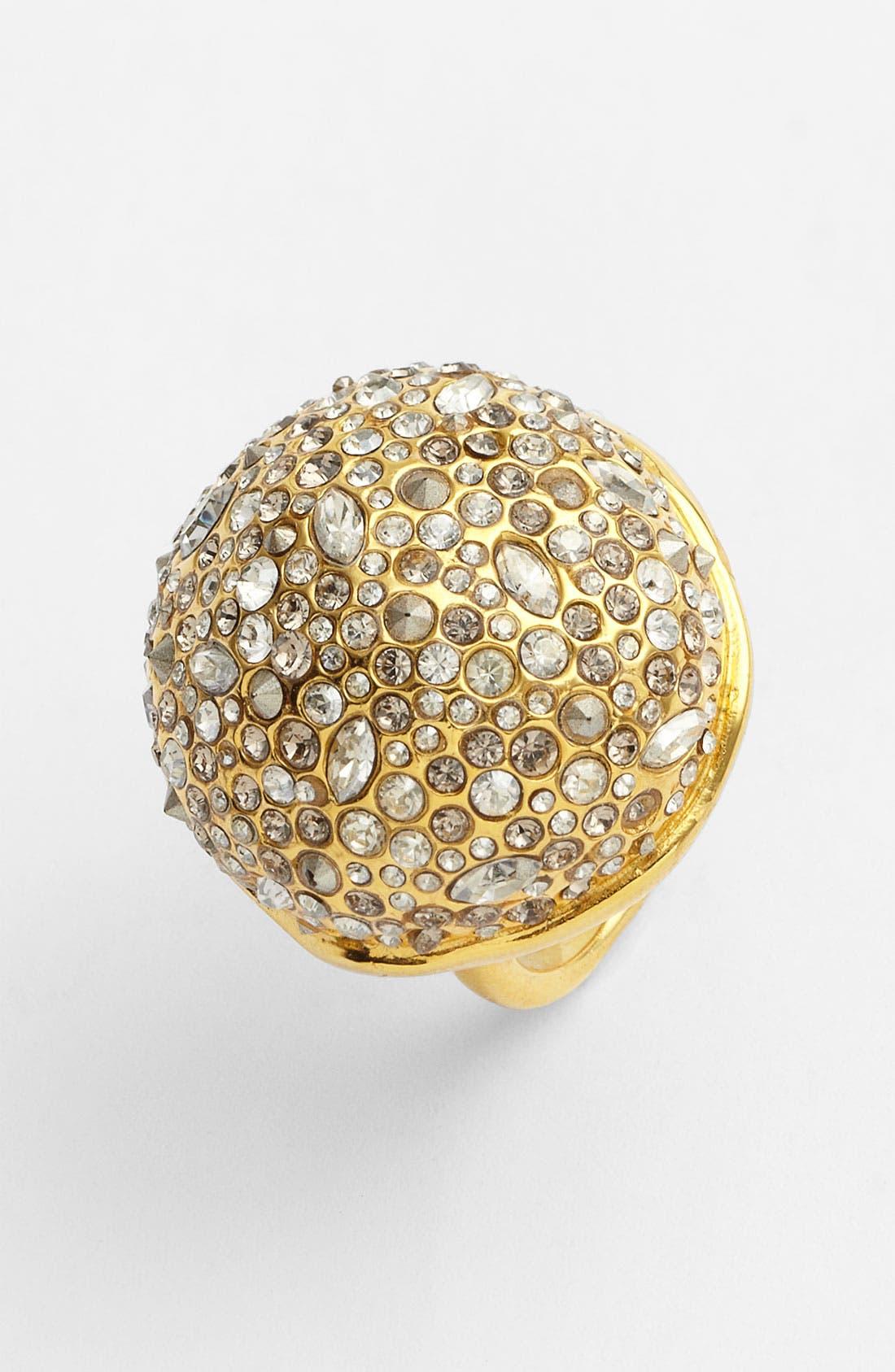 Alternate Image 1 Selected - Alexis Bittar 'Miss Havisham' Crystal Encrusted Sphere Ring
