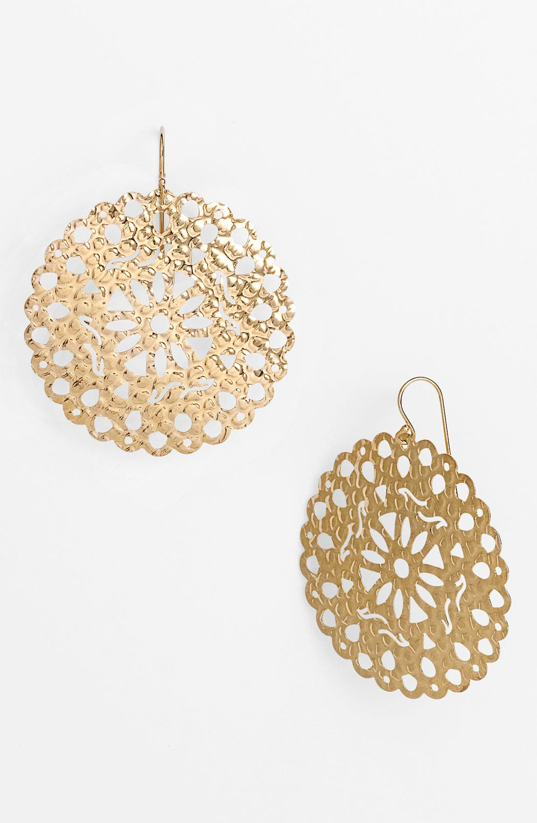 Main Image - Argento Vivo 'Artisanal Lace' Round Drop Earrings (Nordstrom Exclusive)