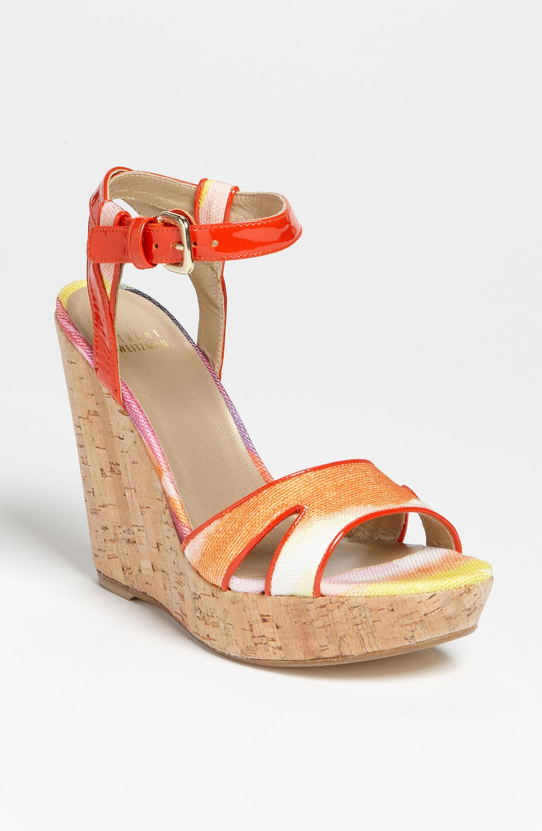 Alternate Image 1 Selected - Stuart Weitzman 'Midair' Wedge Sandal