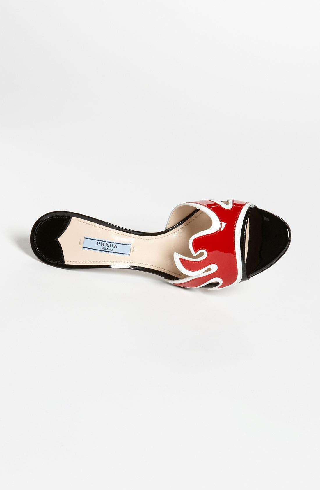 Alternate Image 3  - Prada Flame Slide Sandal