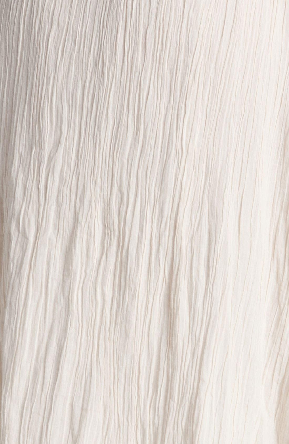 Alternate Image 3  - Rubbish® Asymmetrical Hem Gauze Skirt (Juniors)