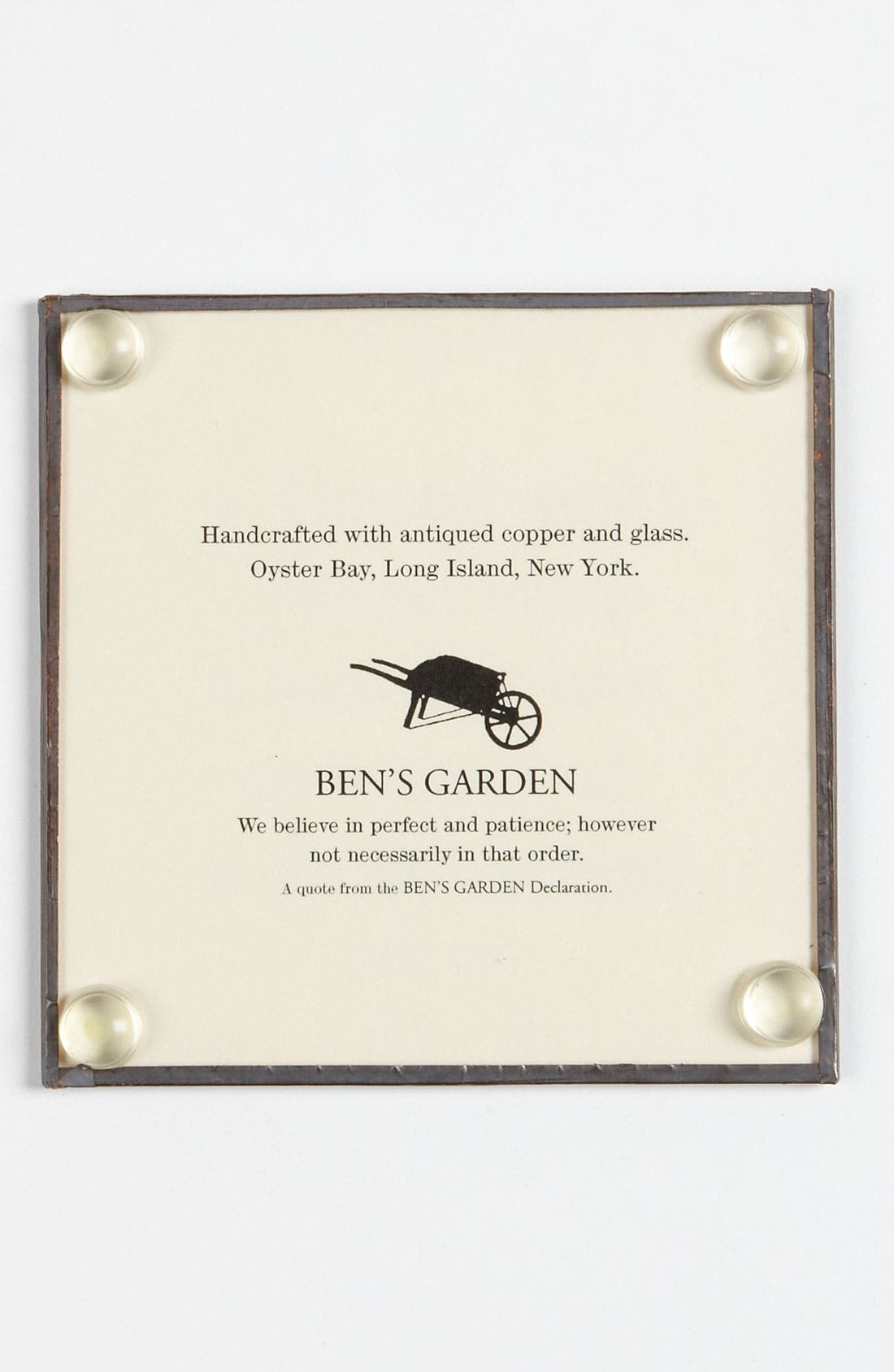 Alternate Image 2  - Ben's Garden 'Hear No Evil' Coaster Set