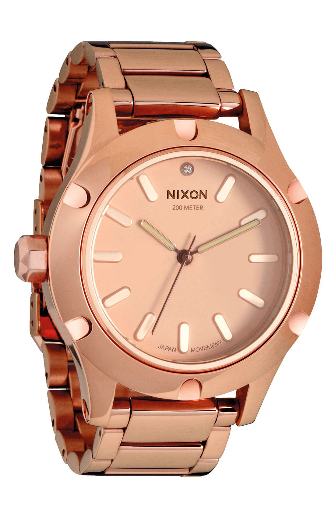 Alternate Image 1 Selected - Nixon 'The Camden' Bracelet Watch, 42mm