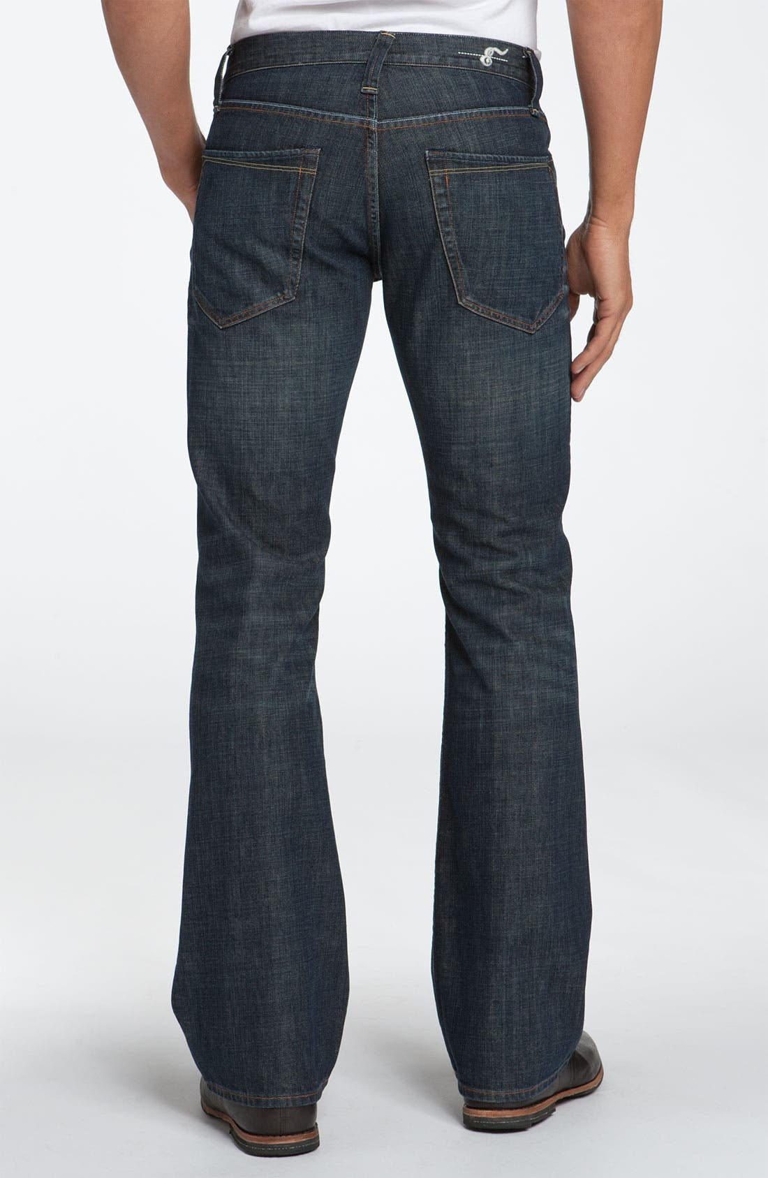 Alternate Image 1 Selected - Earnest Sewn 'Hutch' Bootcut Jeans (Maz Dark)