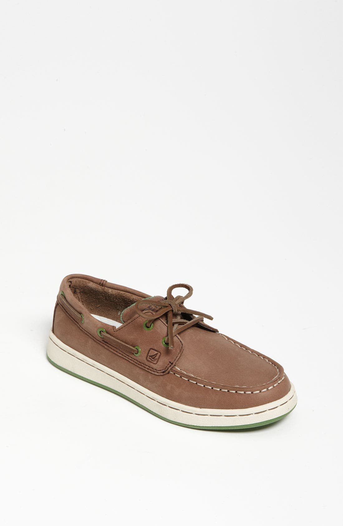 Alternate Image 1 Selected - Sperry Top-Sider® Kids 'Cup 2 Eye' Boat Shoe (Little Kid & Big Kid)