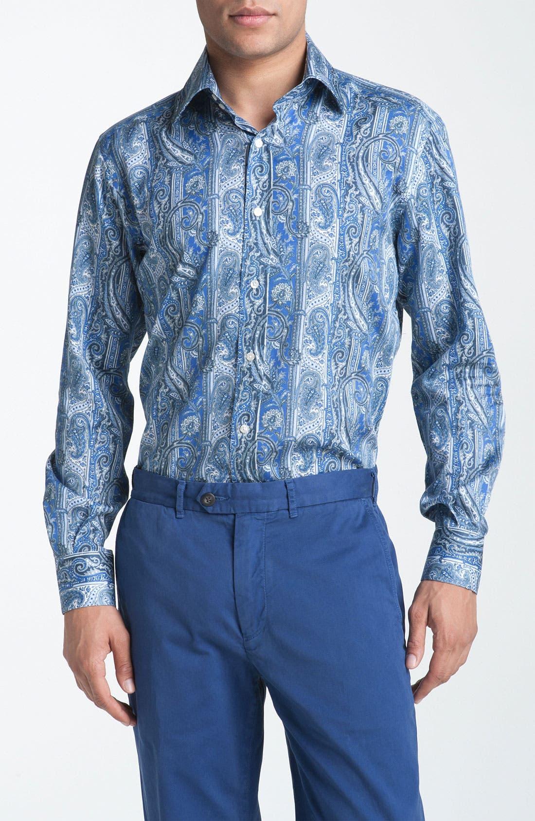 Alternate Image 1 Selected - Etro Paisley Woven Dress Shirt