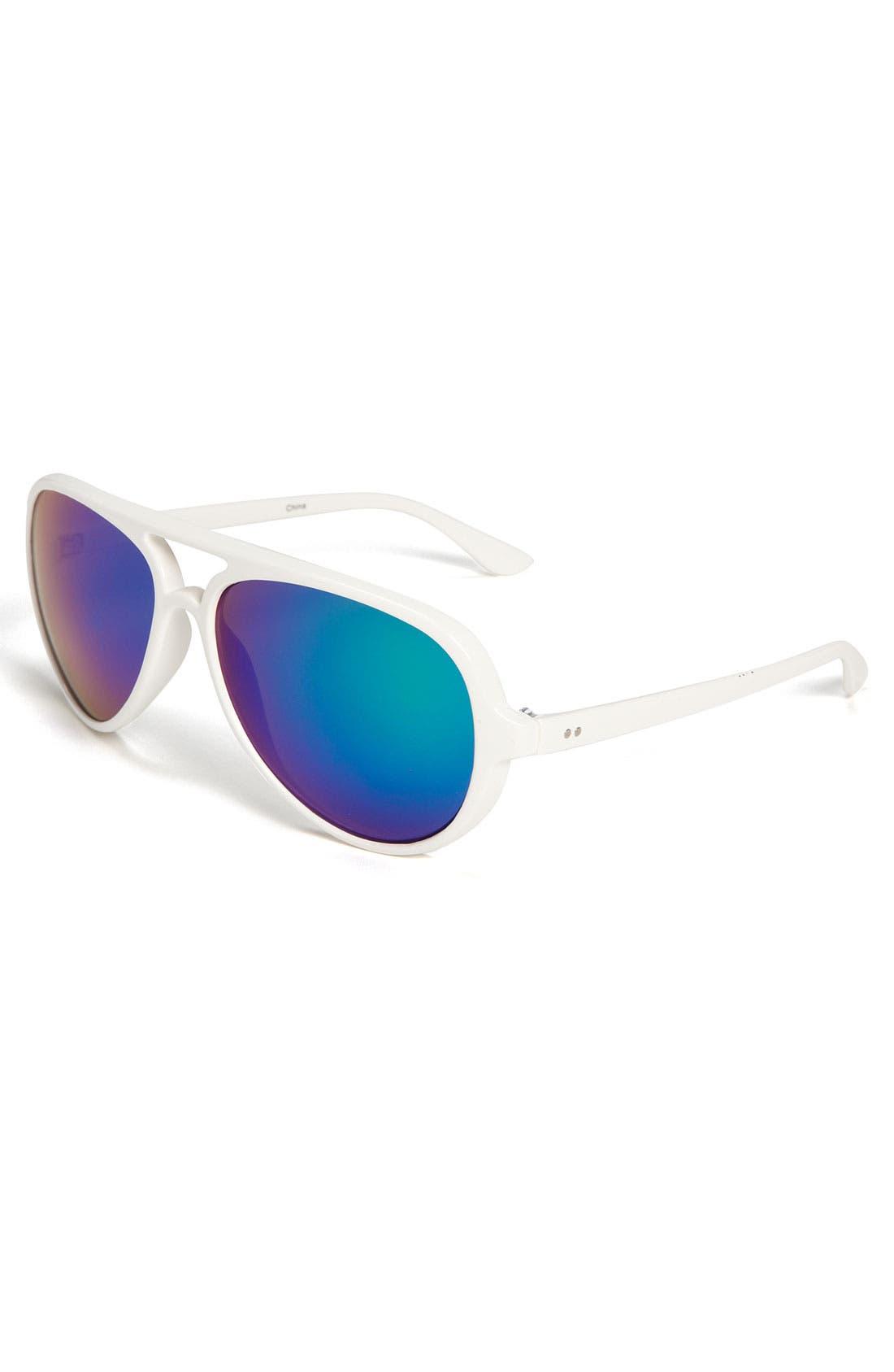 Main Image - Icon Eyewear 'Matt' Aviator Sunglasses (Big Boys)