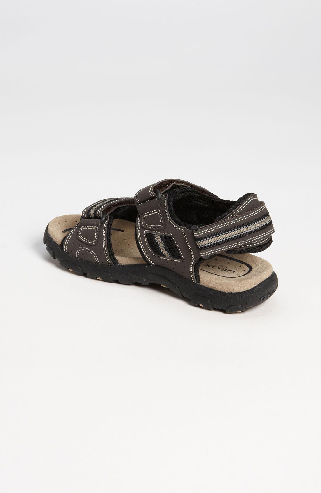 Alternate Image 2  - Geox 'Strada' Sandal (Toddler, Little Kid & Big Kid)