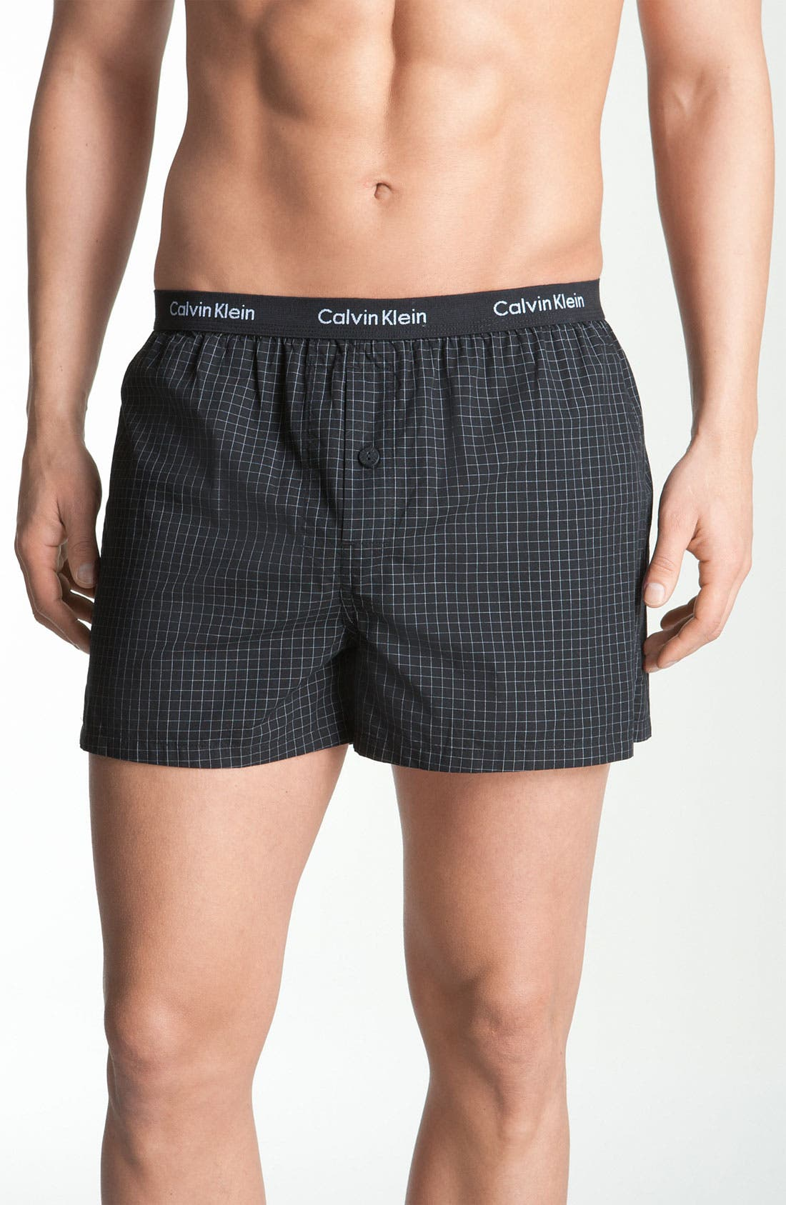 Calvin Klein 'Matrix' Slim Fit Woven Boxers (Online Only)