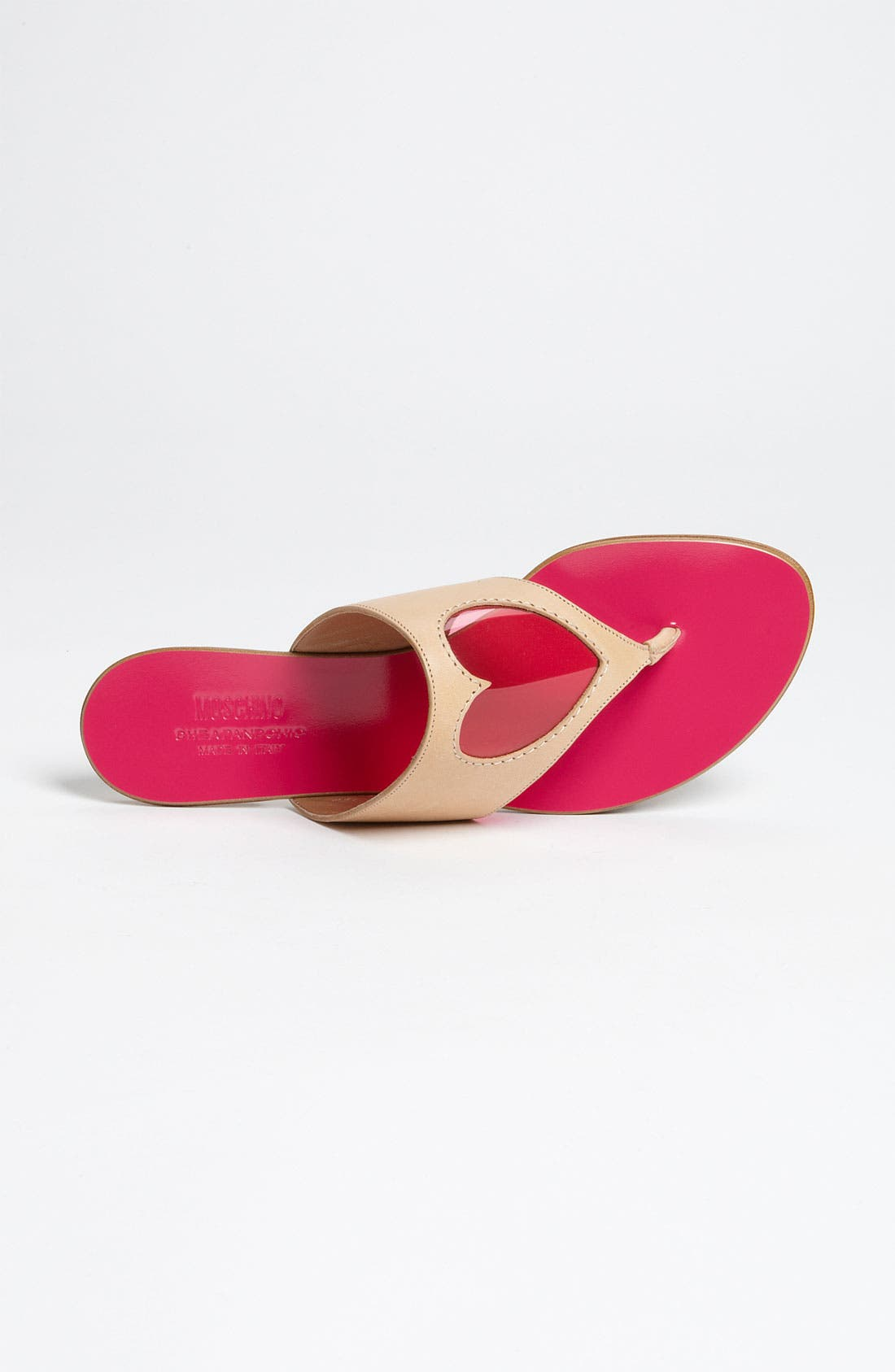 Alternate Image 3  - Moschino Cheap & Chic Heart Sandal