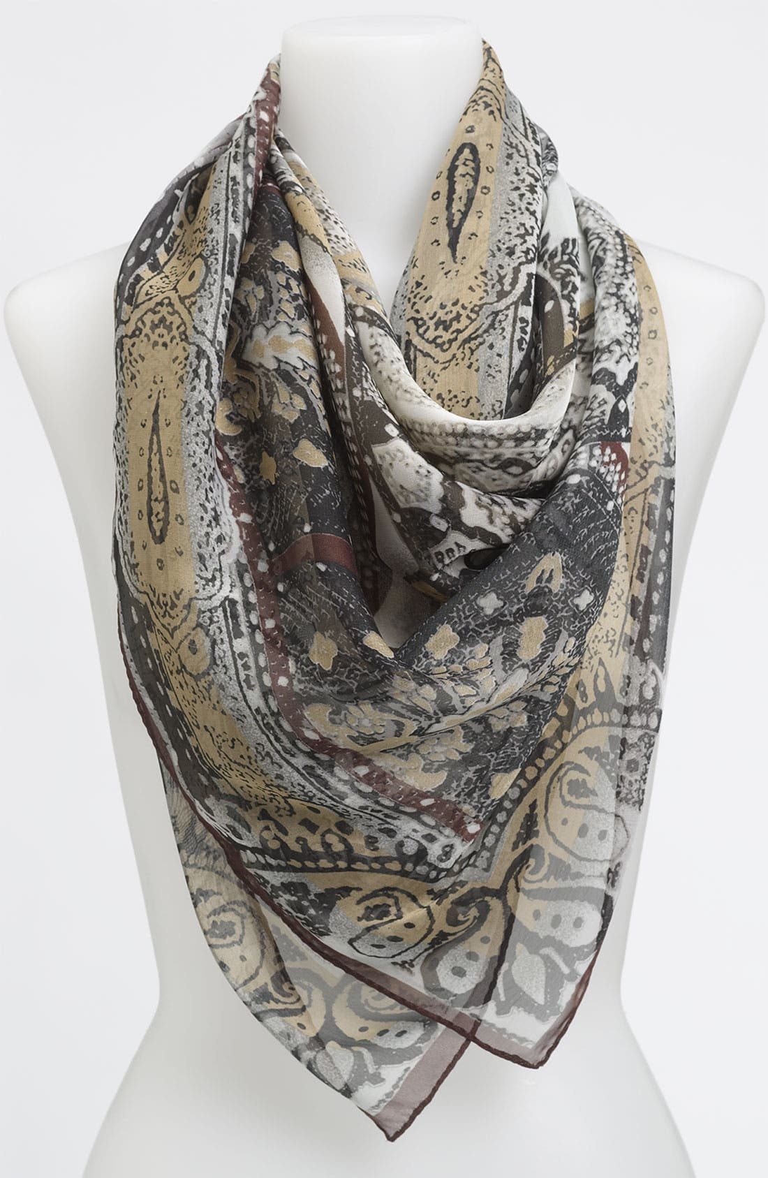 Alternate Image 1 Selected - Collection XIIX 'Grecian Tile' Scarf