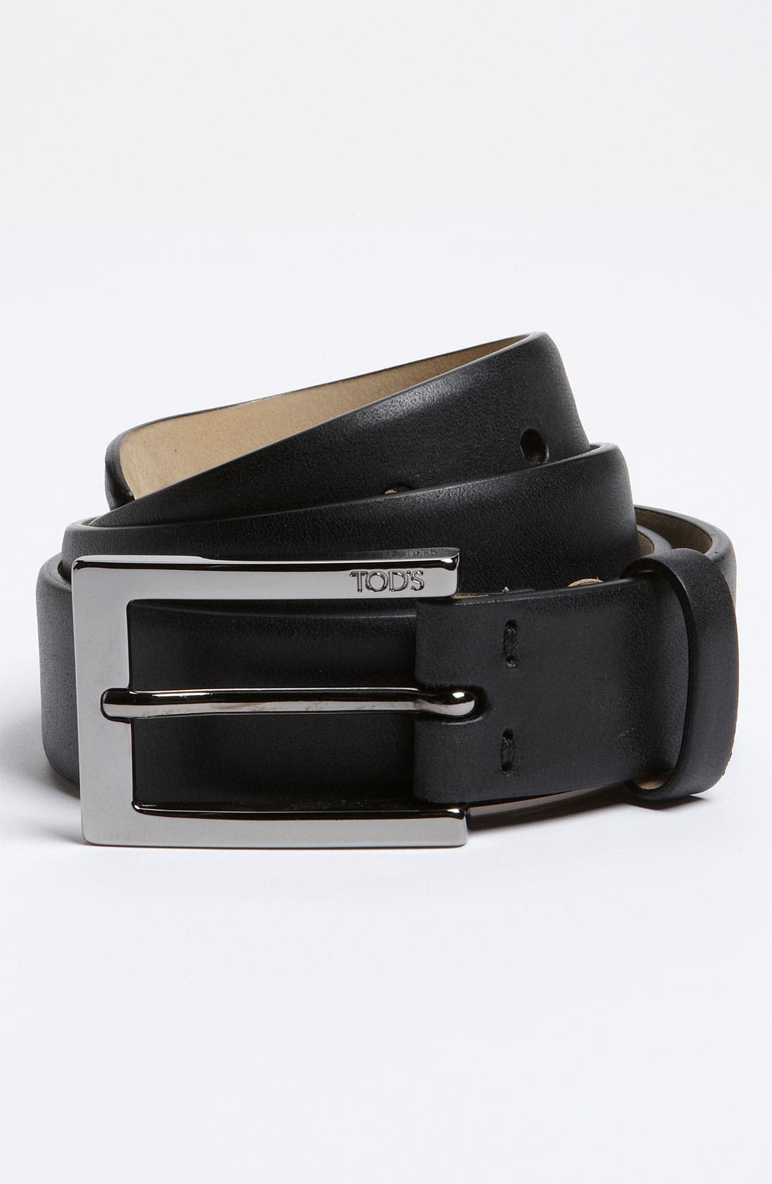 Alternate Image 1 Selected - Tod's 'Simple' Flat Leather Belt