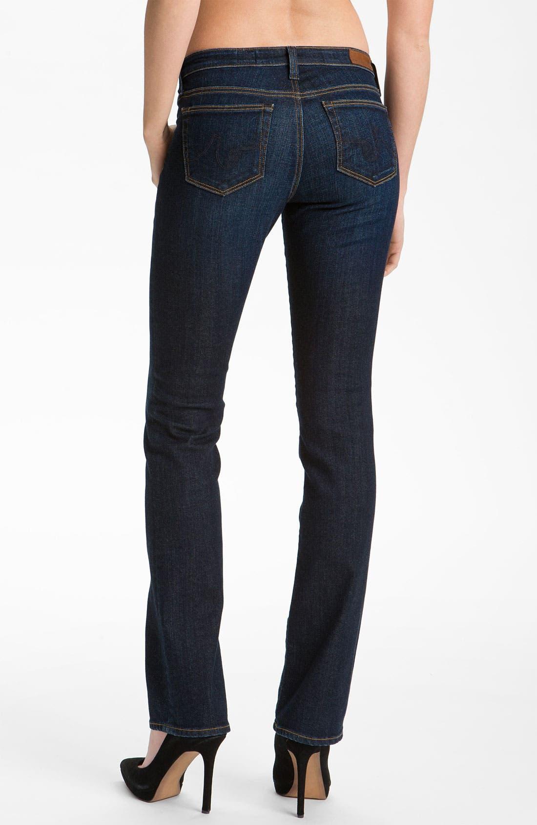 Alternate Image 2  - AG Jeans 'Ballad' Slim Bootcut Jeans (Hope)
