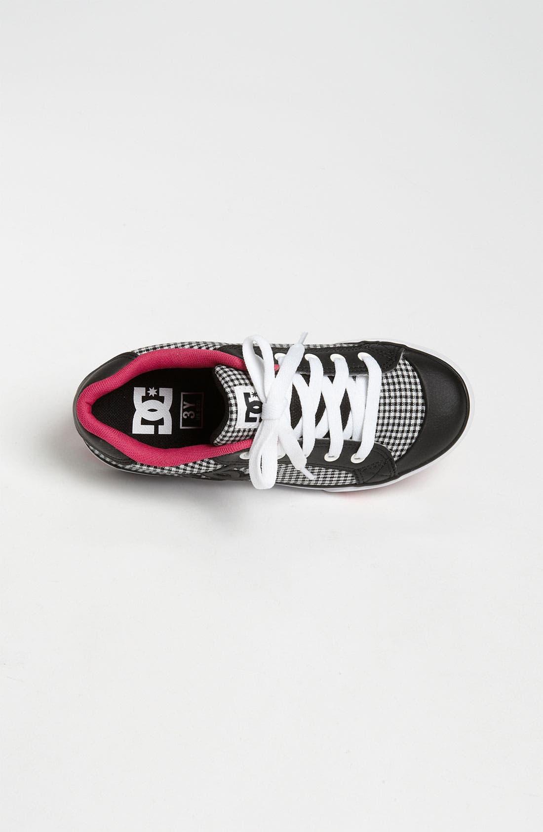 Alternate Image 3  - DC Shoes 'Chelsea Charm' Sneaker (Toddler, Little Kid & Big Kid)