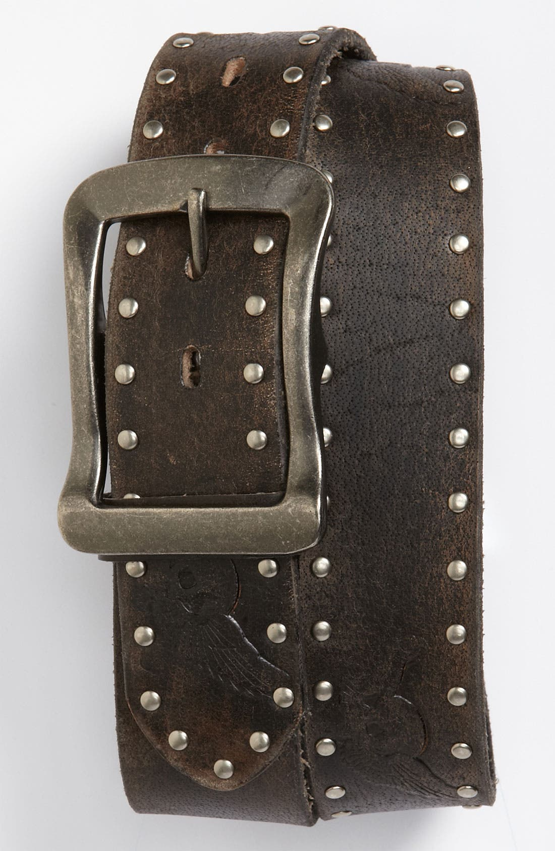 Alternate Image 1 Selected - Bed Stu 'Anxious' Studded Leather Belt