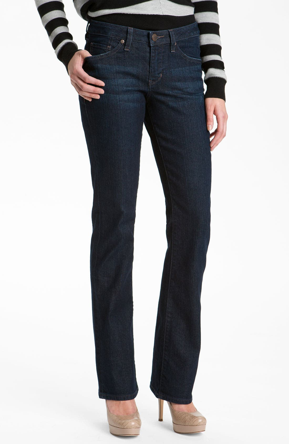 Alternate Image 1 Selected - Jag Jeans 'Lucy' Bootcut Jeans (Clean Dark)