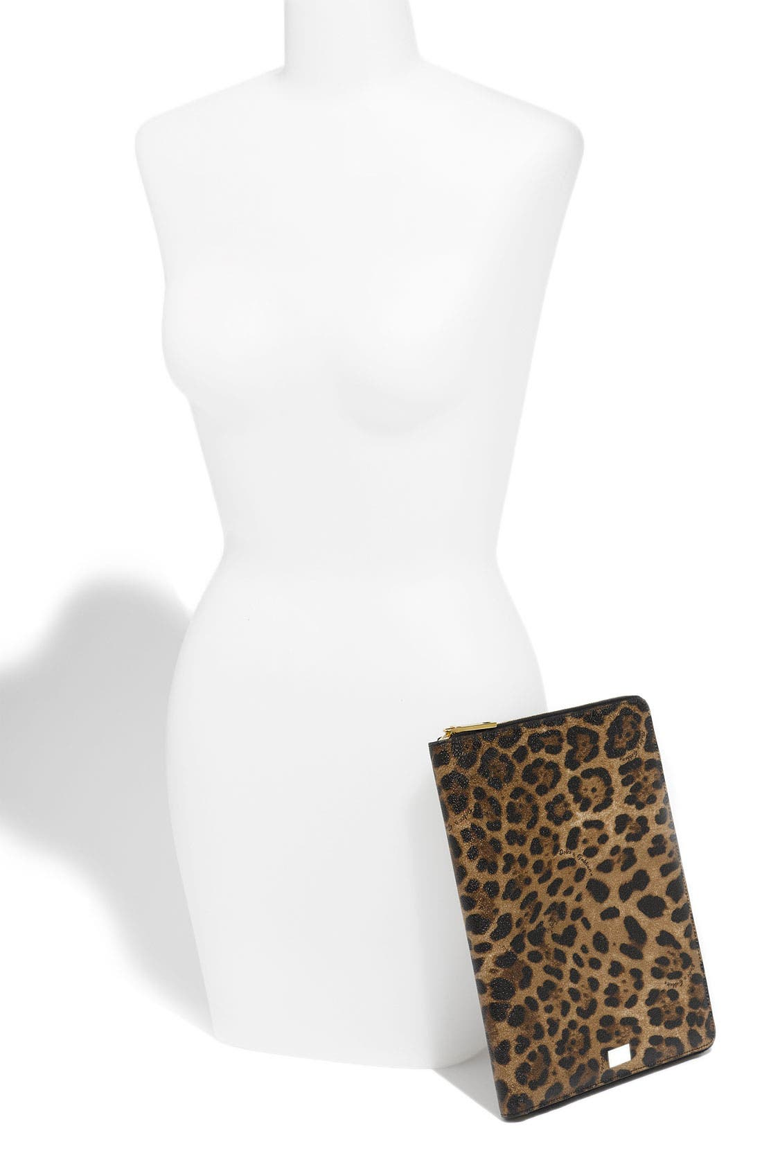 Alternate Image 2  - Dolce&Gabbana Zip Around iPad Case