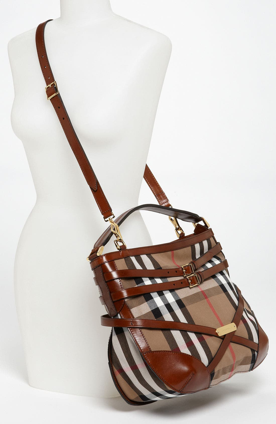 Alternate Image 2  - Burberry 'House Check' Hobo