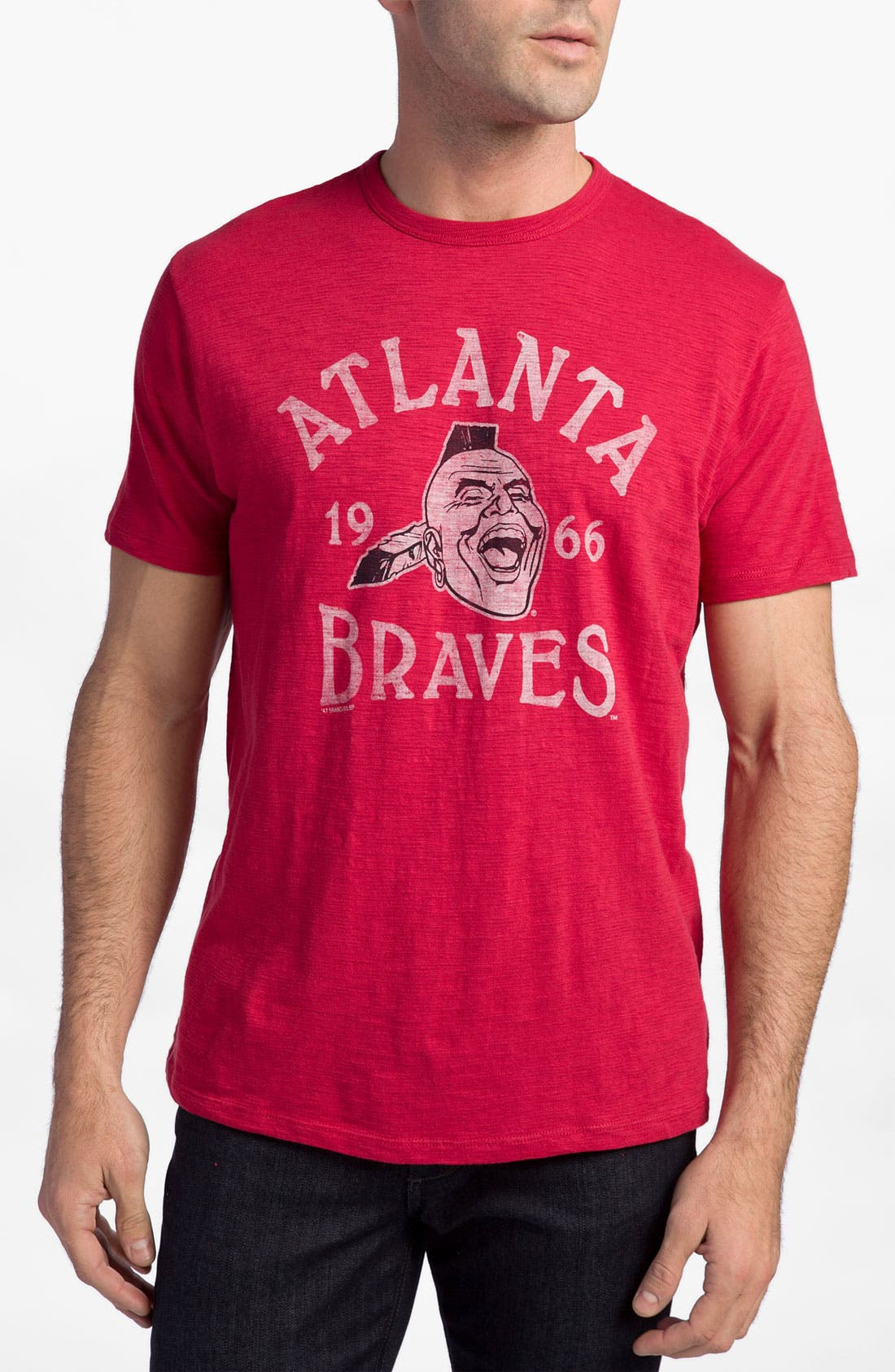 Alternate Image 1 Selected - Banner 47 'Atlanta Braves' Crewneck T-Shirt