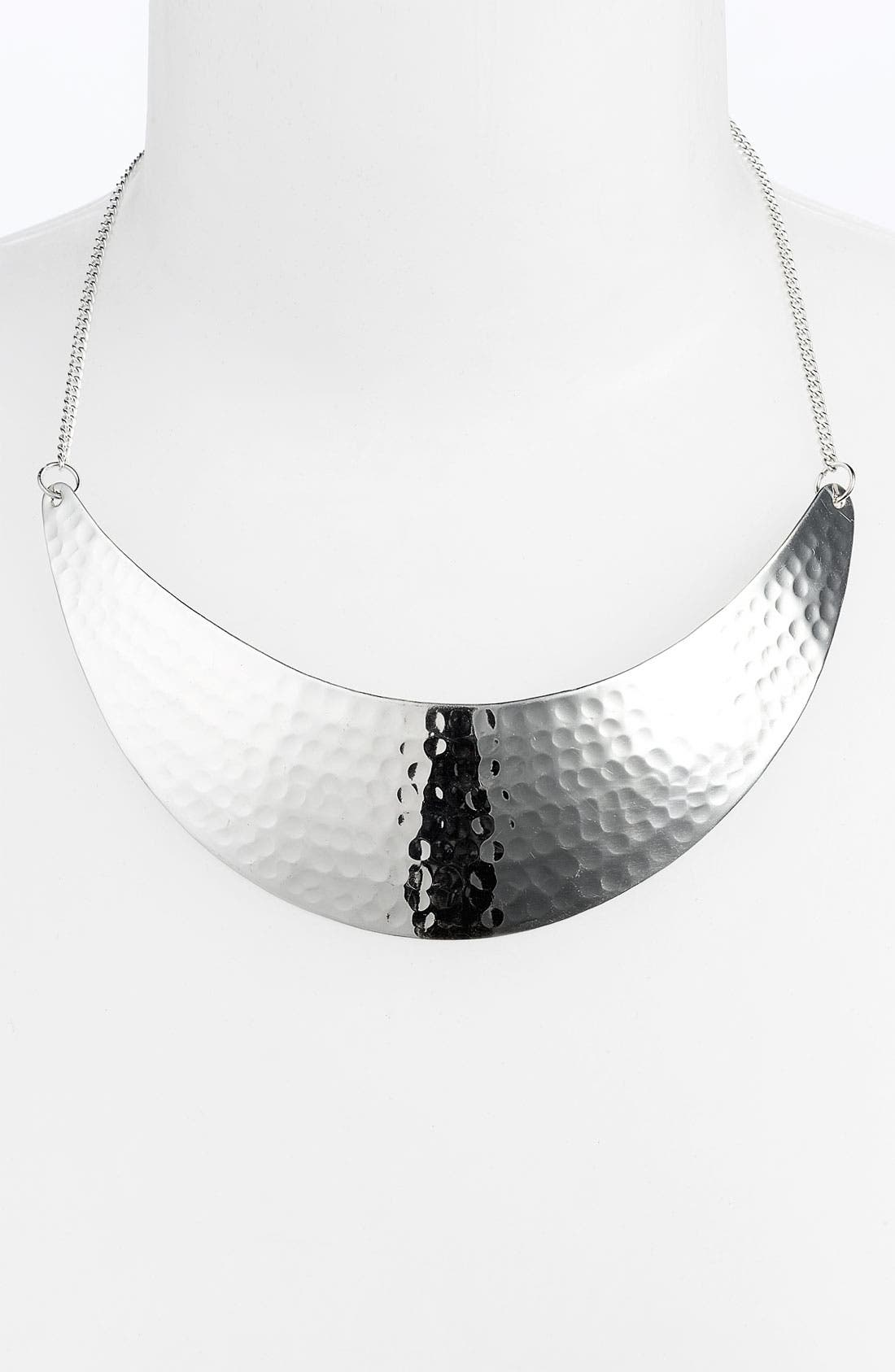 Alternate Image 1 Selected - Stephan & Co Hammered Collar Necklace