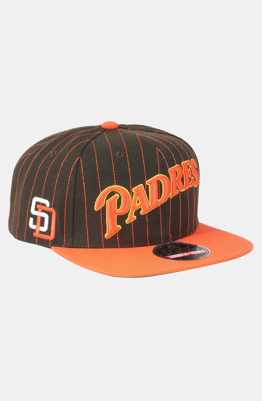 Alternate Image 1 Selected - American Needle 'Padres' Snapback Baseball Cap