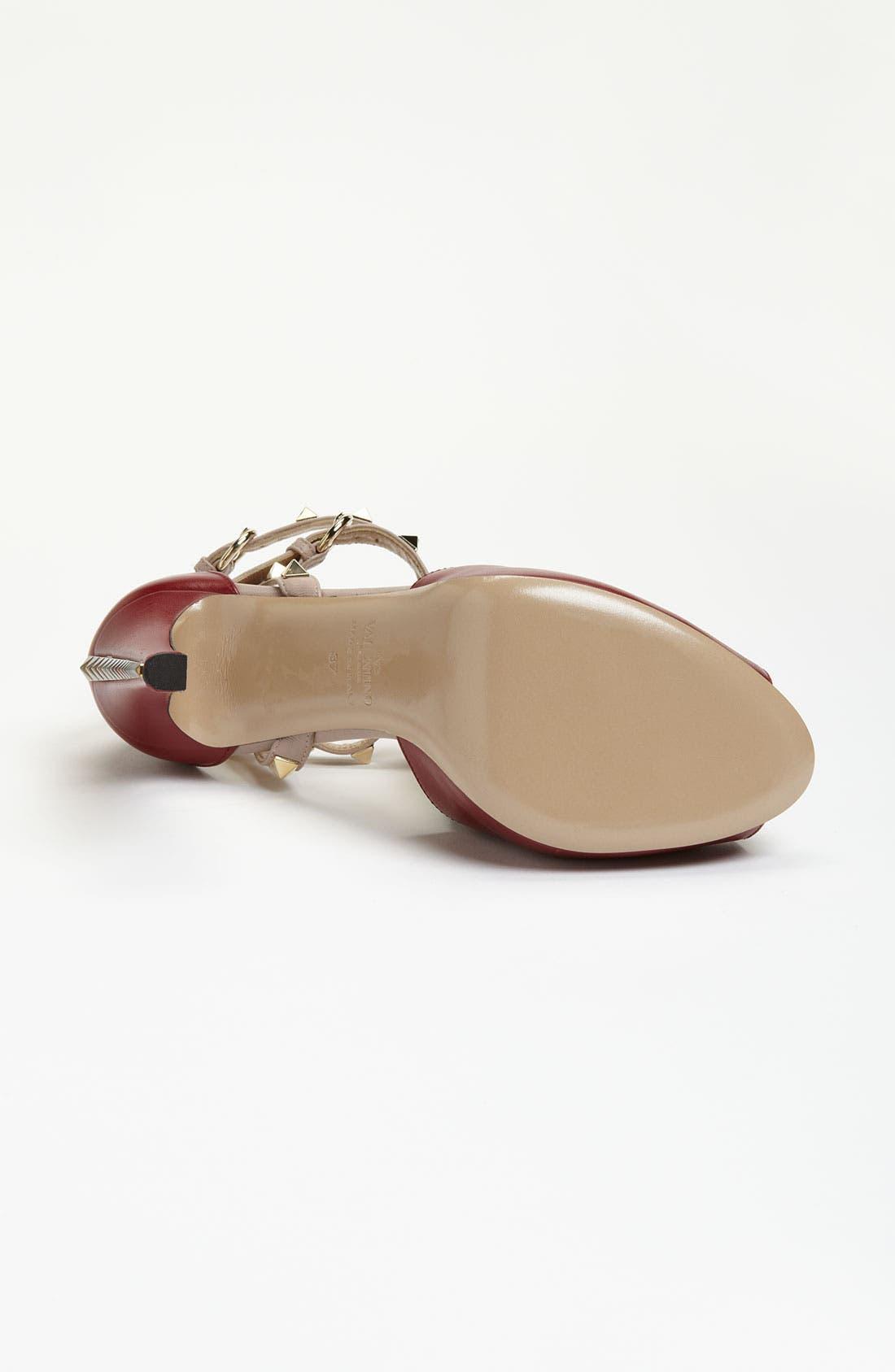 Alternate Image 4  - Valentino Stud Sandal