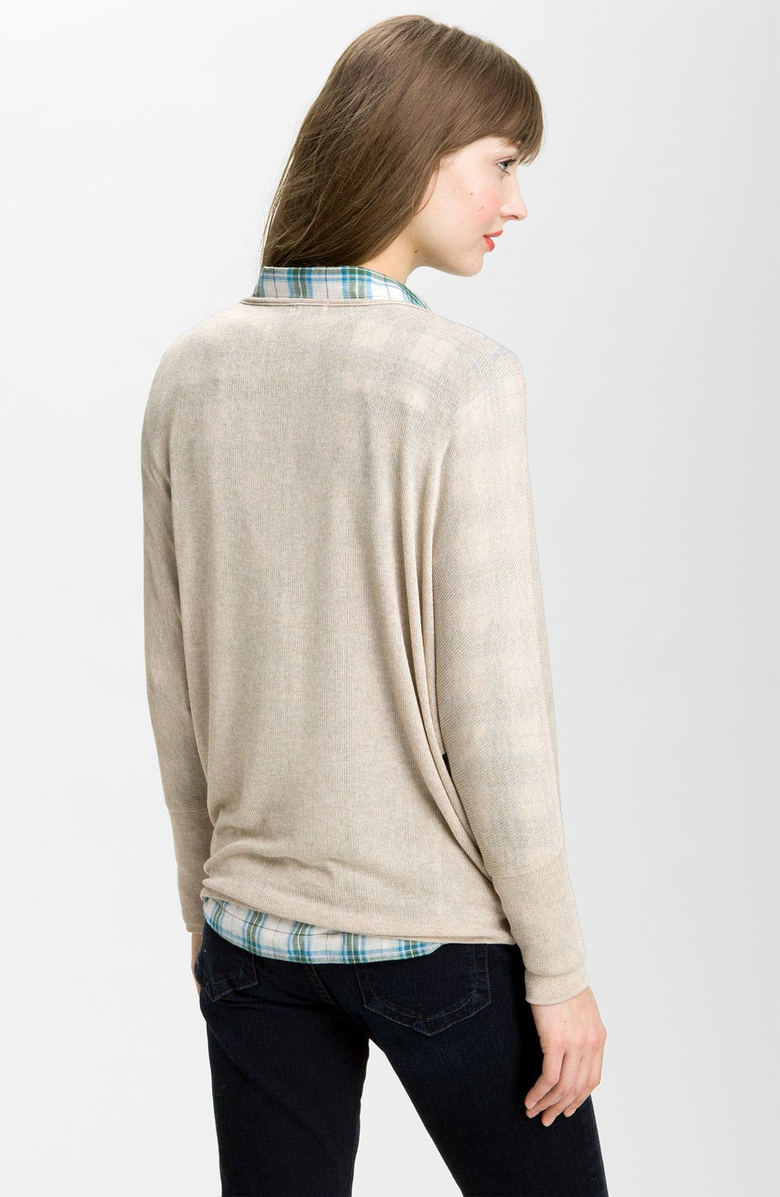 Alternate Image 2  - KUT from the Kloth Batwing Sleeve Sweater Knit Top