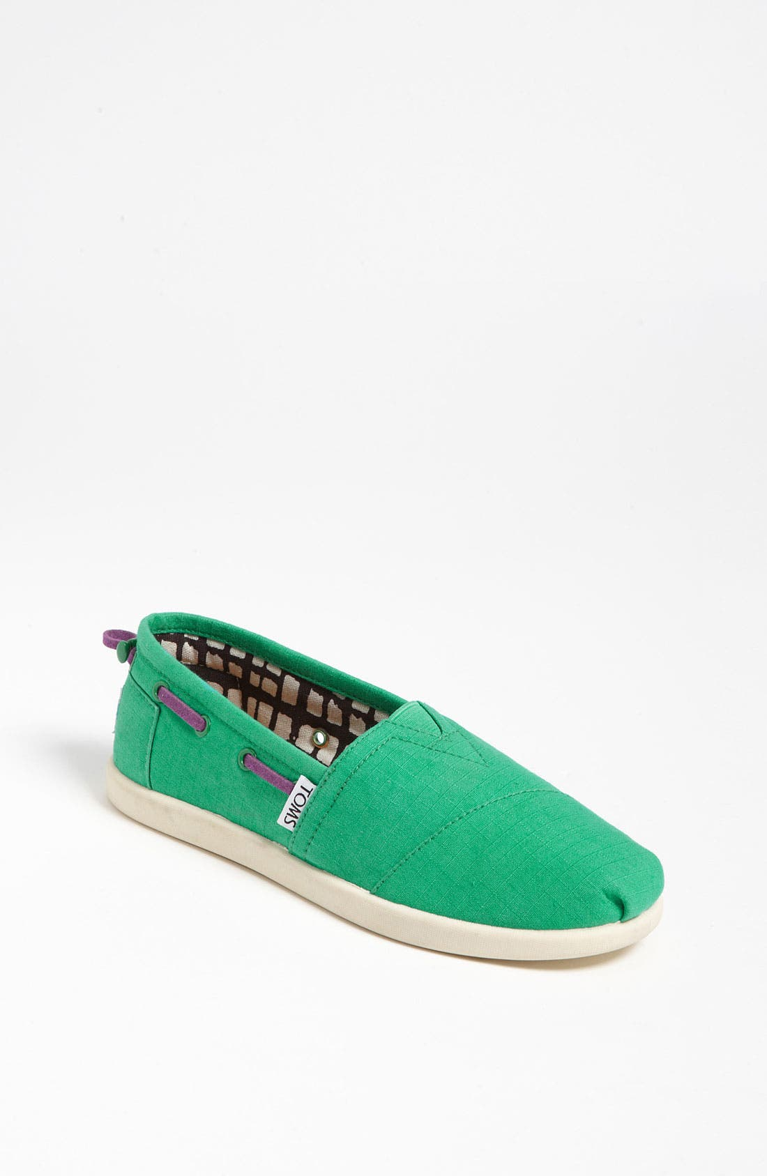 Main Image - TOMS 'Classic Youth - Bimini' Ripstop Slip-On (Toddler, Little Kid & Big Kid)