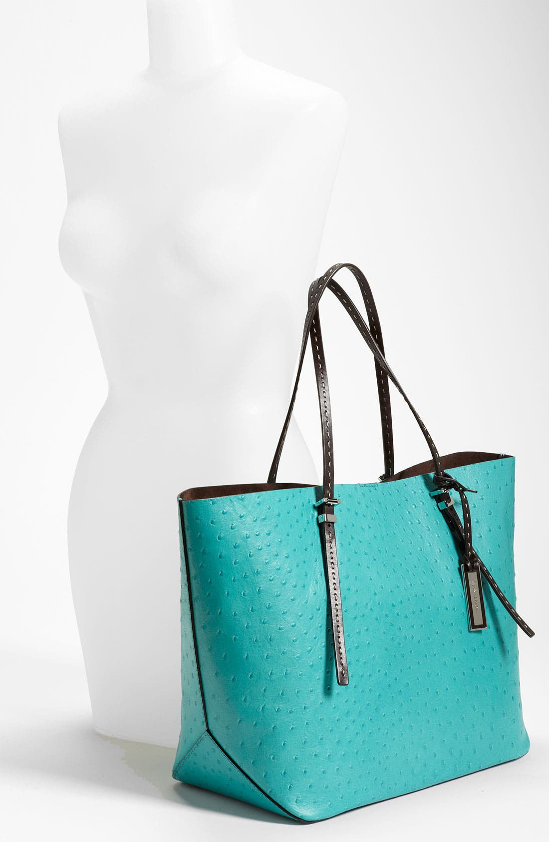 Alternate Image 2  - Michael Kors Ostrich Embossed Leather Tote
