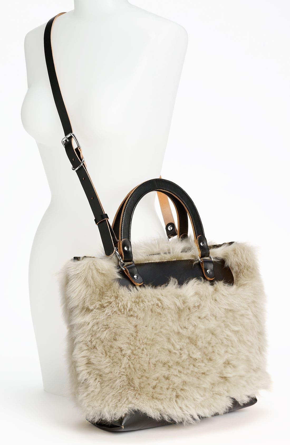 Alternate Image 2  - Marni Shearling Crossbody Bag