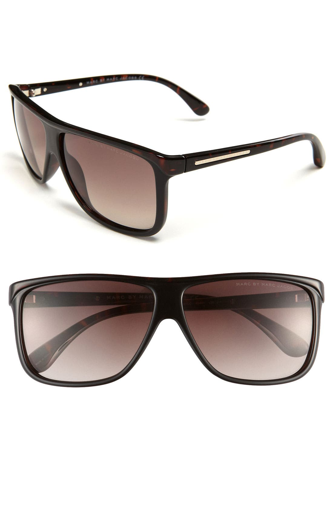 Main Image - MARC BY MARC JACOBS Retro 60mm Sunglasses