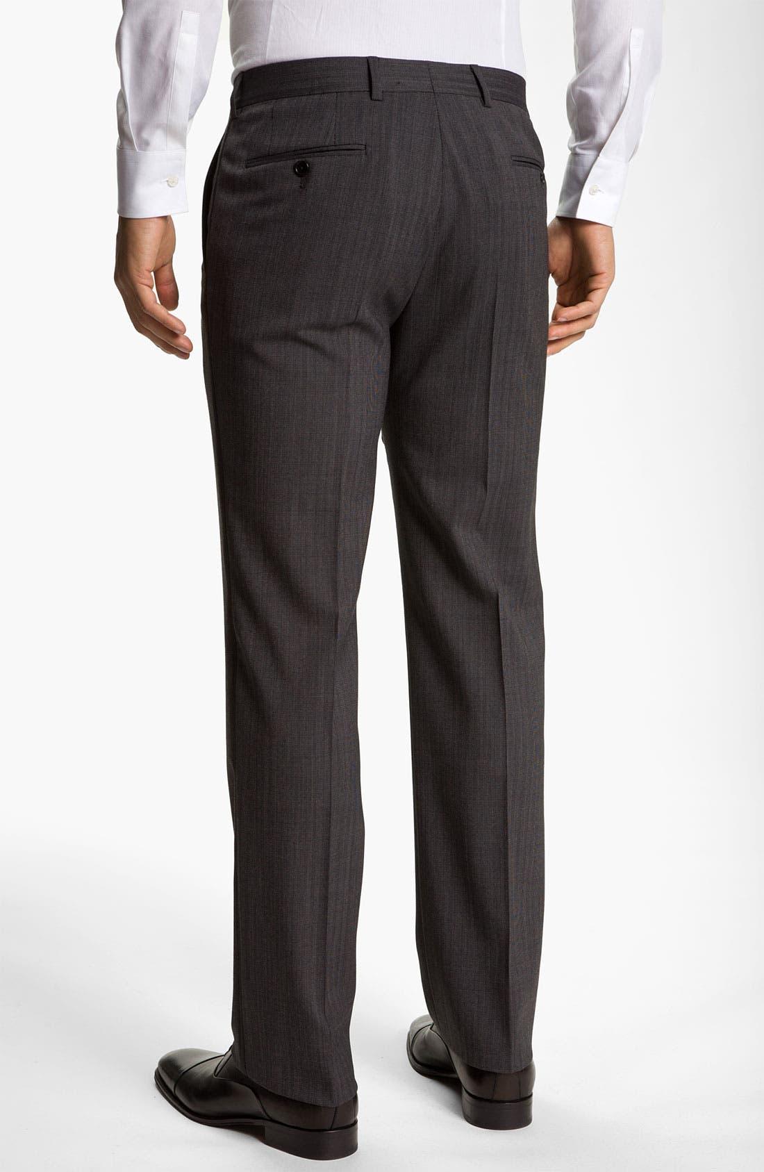 Alternate Image 2  - John Varvatos Star USA Herringbone Trousers