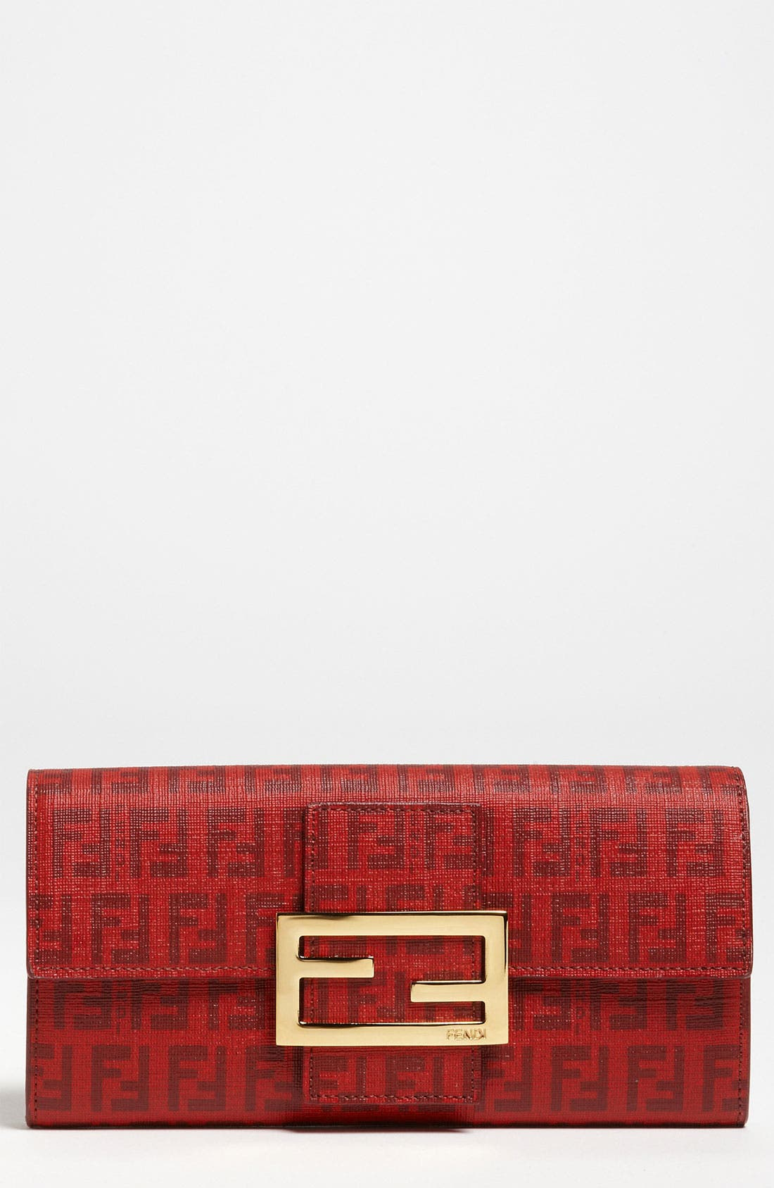 Main Image - Fendi 'Forever Flowers' Continental Wallet