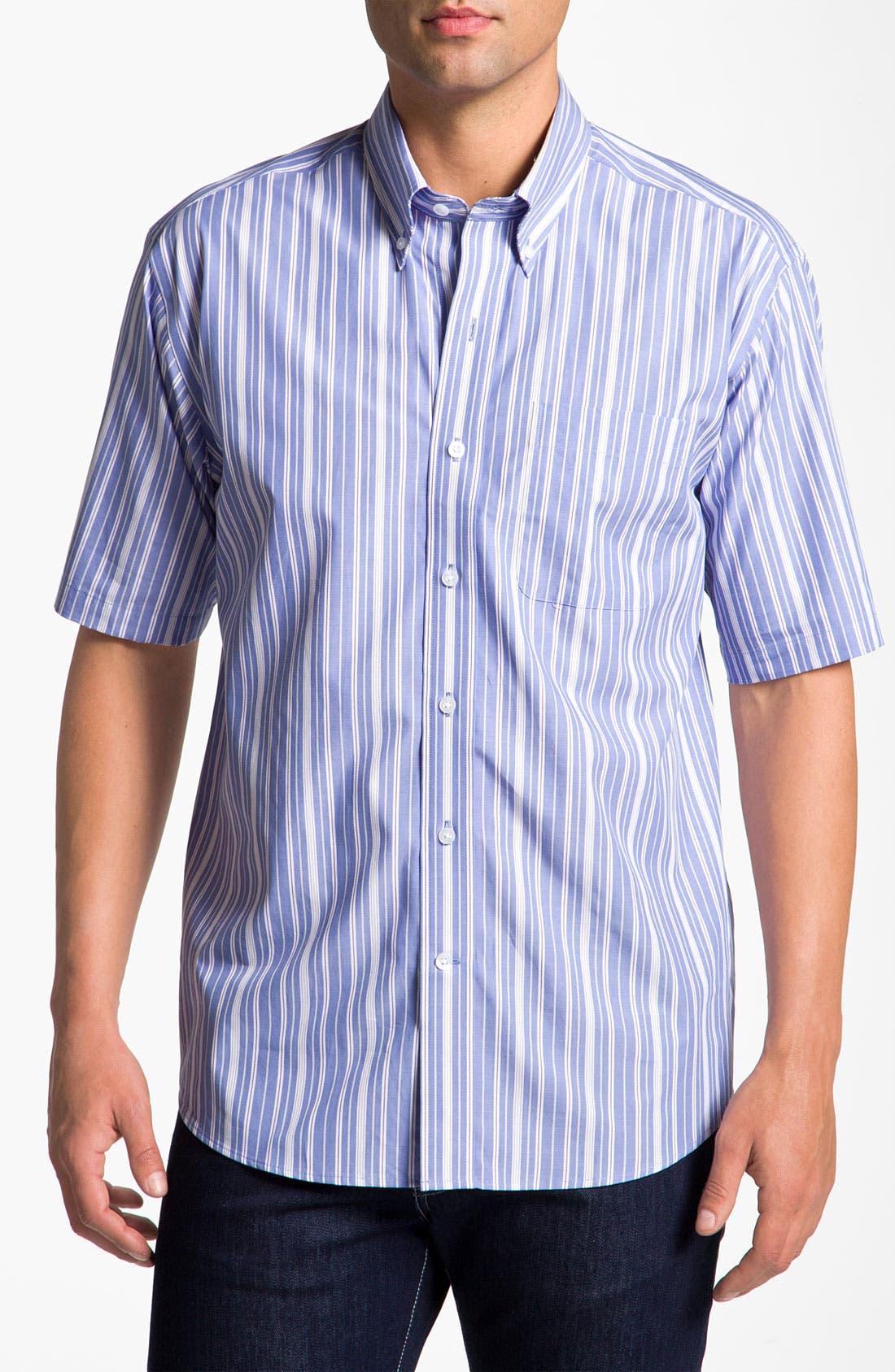Main Image - Cutter & Buck 'Beach Access' Stripe Sport Shirt