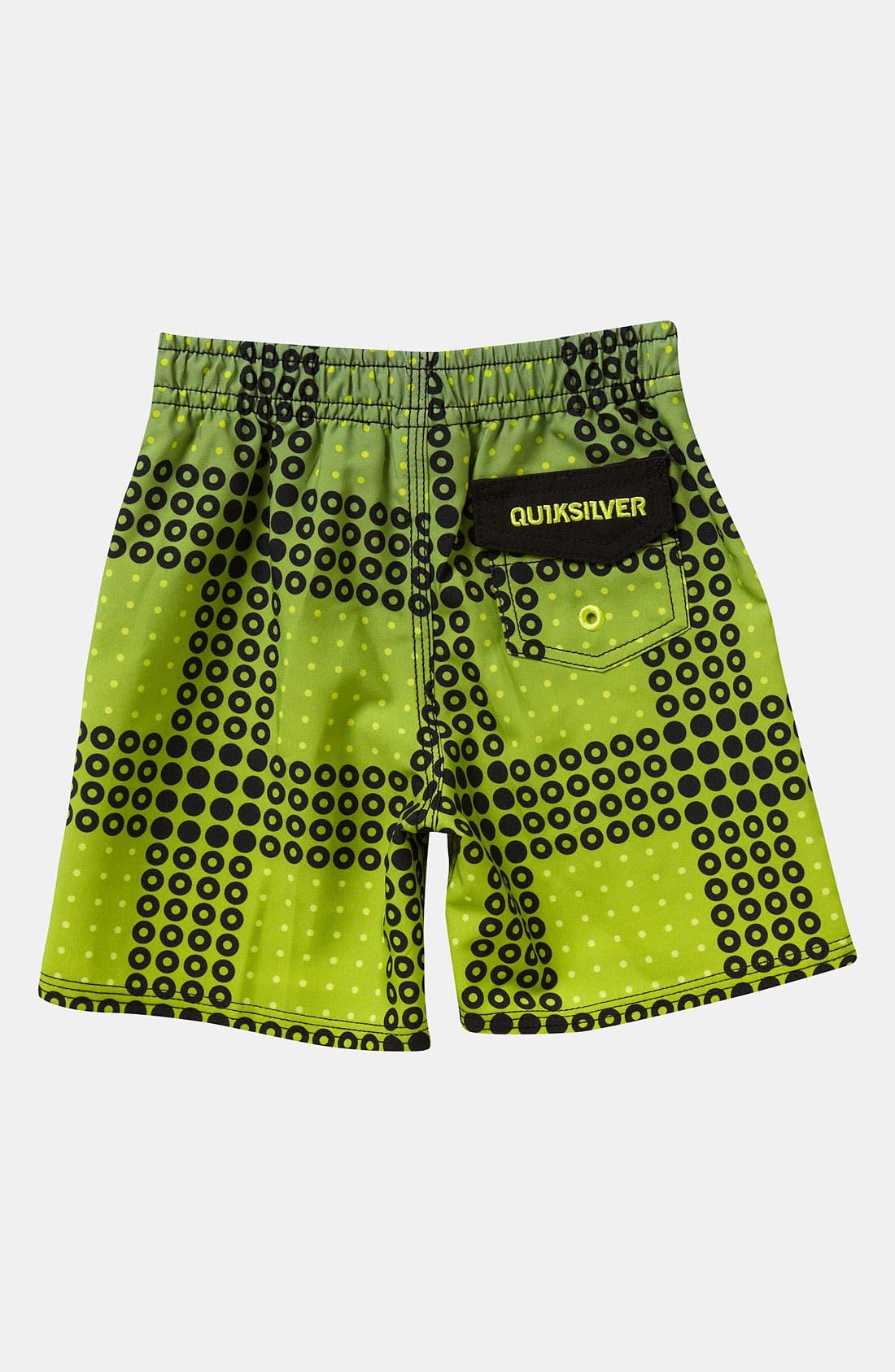 Alternate Image 2  - Quiksilver 'Inverse' Board Shorts (Infant)