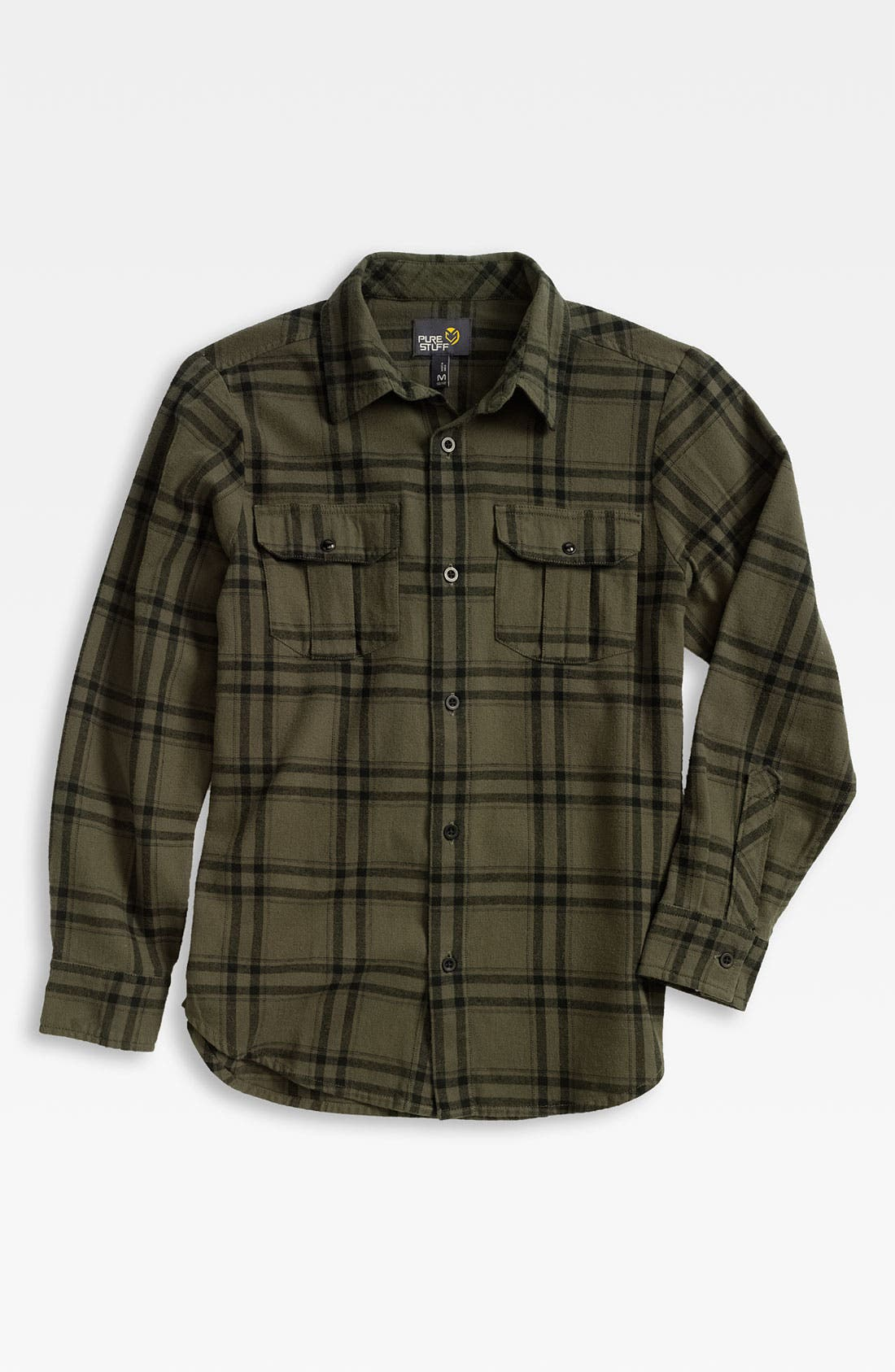 Alternate Image 1 Selected - Pure Stuff 'Blake' Flannel Shirt (Big Boys)