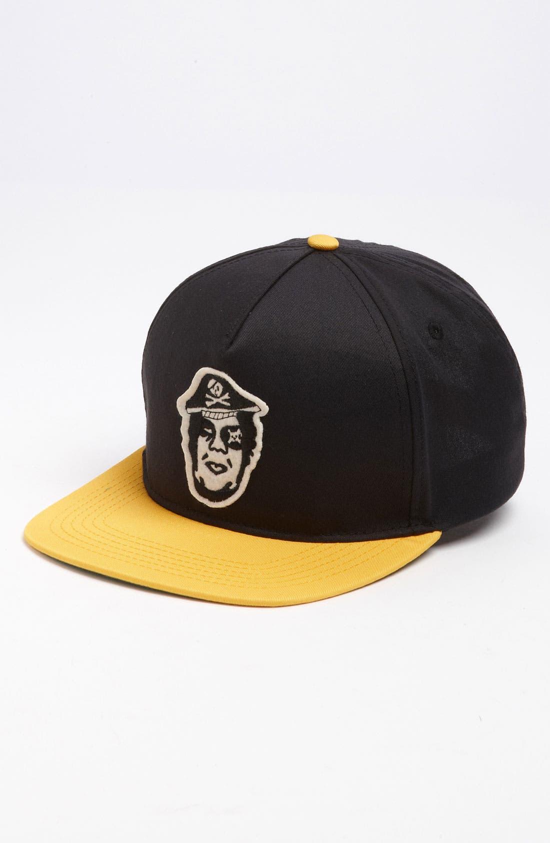 Main Image - Obey 'Avast!' Snapback Baseball Cap