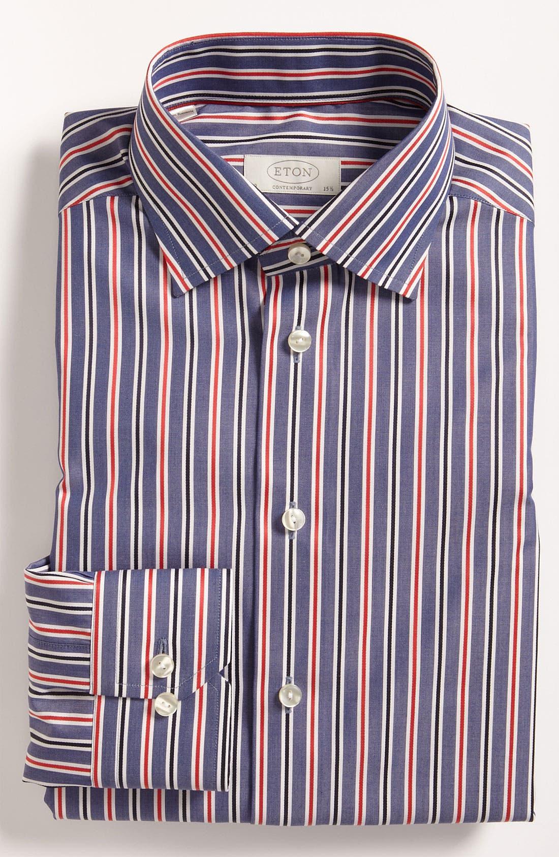 Main Image - Eton Contemporary Fit Dress Shirt