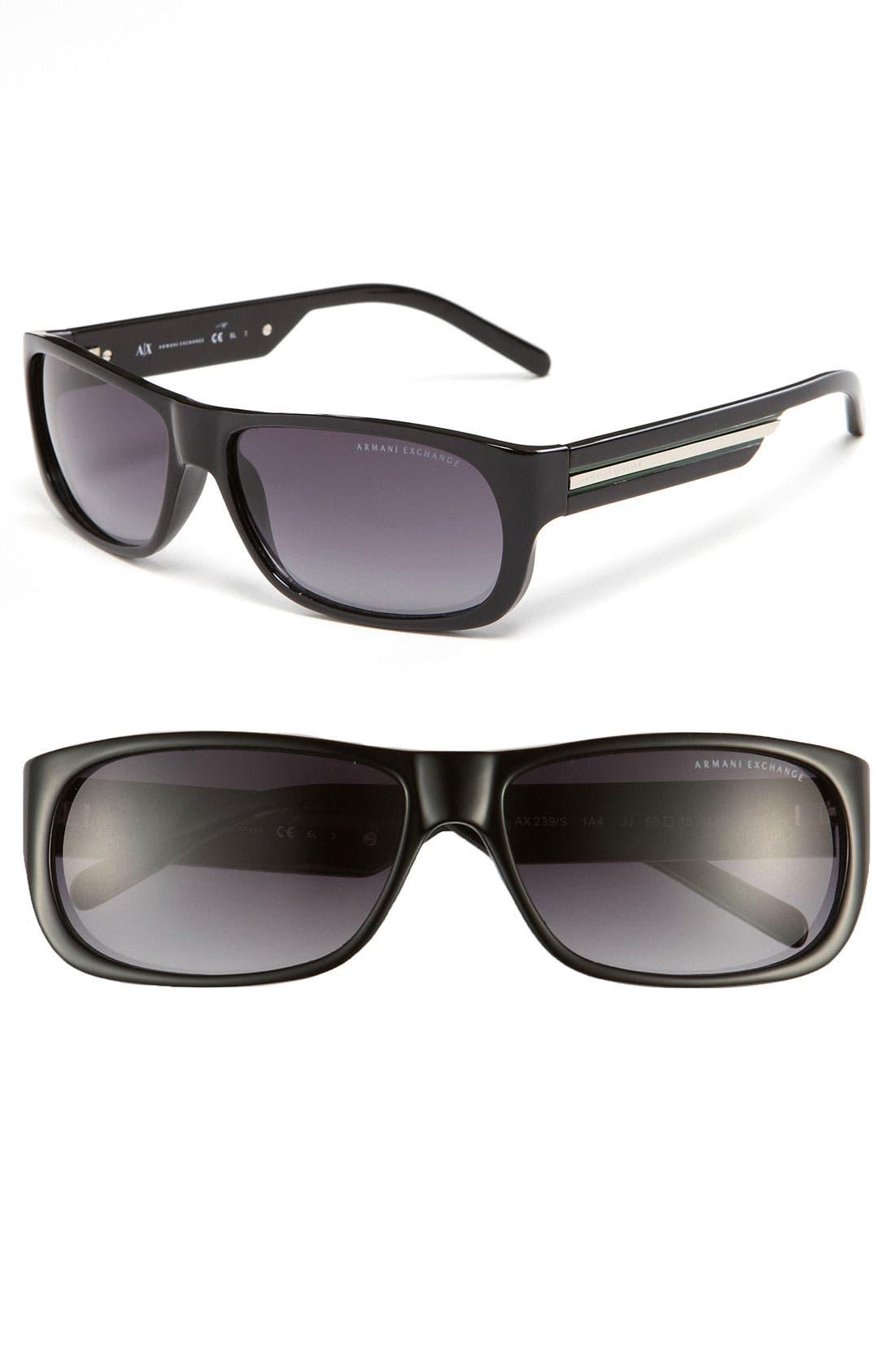 Main Image - AX Armani Exchange Sunglasses