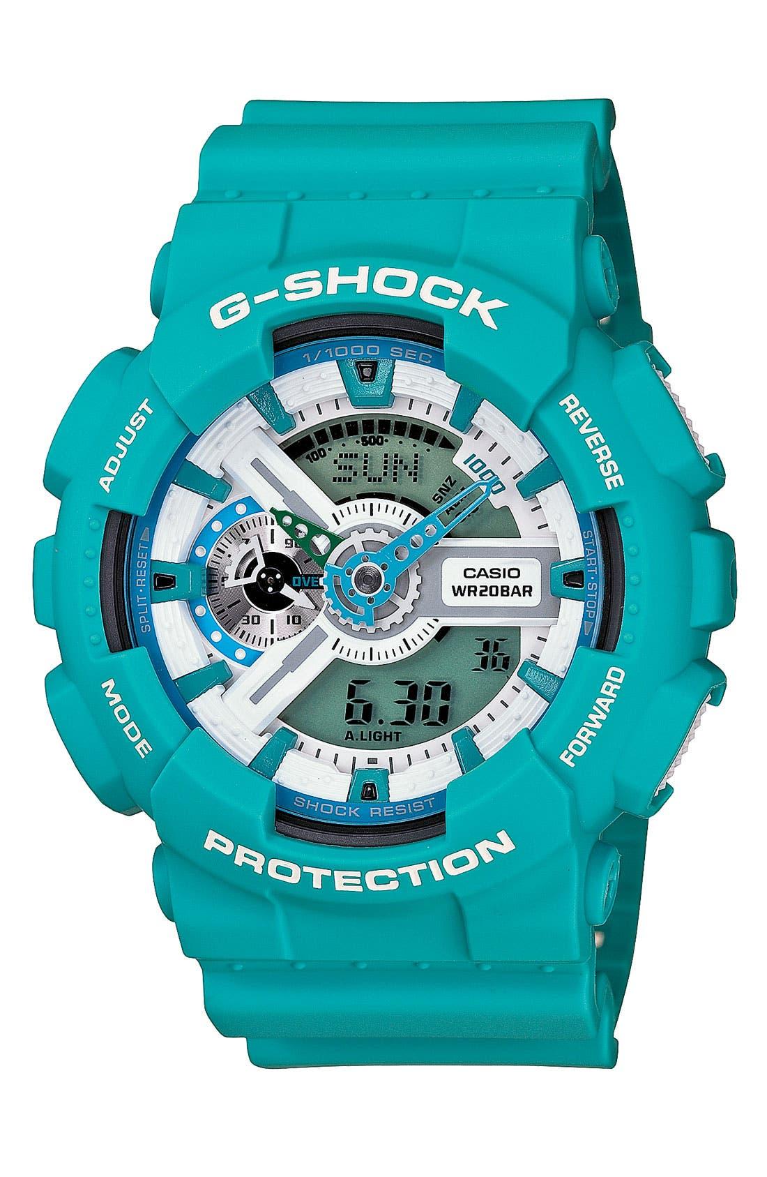 Main Image - G-Shock 'X-Large' Dual Movement Watch, 55mm