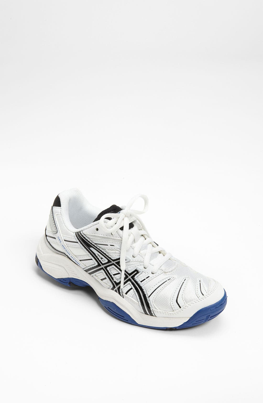 Alternate Image 1 Selected - ASICS® 'GEL-Resolution' Tennis Shoe (Little Kid & Big Kid)