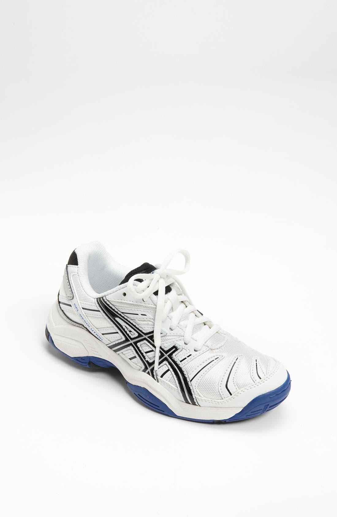 Main Image - ASICS® 'GEL-Resolution' Tennis Shoe (Little Kid & Big Kid)